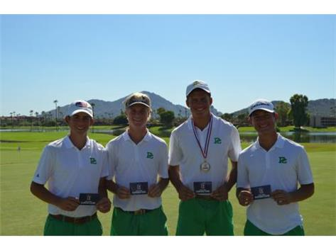 First Place finish at Antigua National HS Invite Big Break Skills Challenge