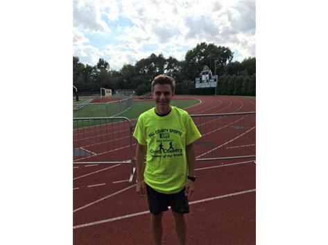 Congrats to John Morrison WJOL Runner of the Week for September 17-22