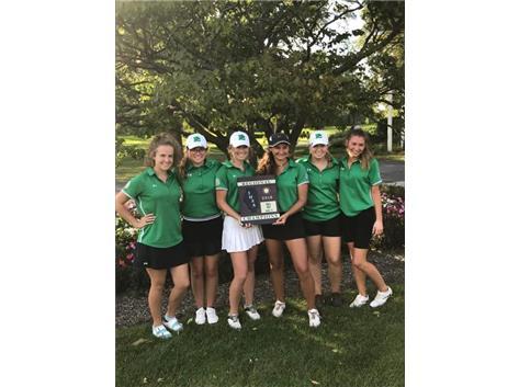 Girls Golf Captures 2018 Regional Title!!