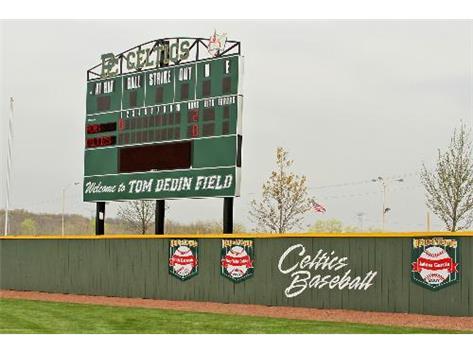 The PCHS Varsity Baseball Scoreboard