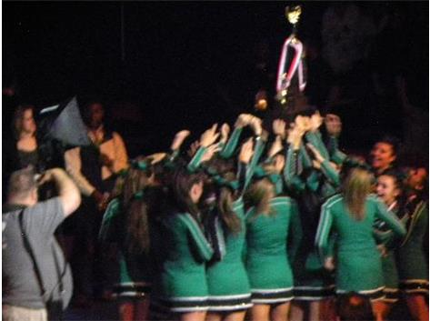 2012-13 First State Cheerleading Championship Title for PCHS!