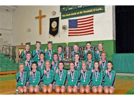2012-13 Providence Catholic's first-ever State Champion Cheerleading Title and the school's 26th State Title overall.