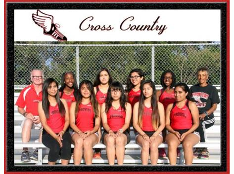 Proviso West Girls Cross Country 2016