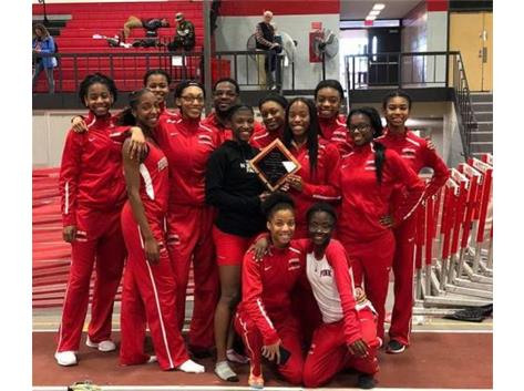 1st Place Lady Panthers: 23rd Annual Panther Indoor T&F Invite
