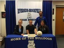 Jason Bageanis St. Ambrose Signing