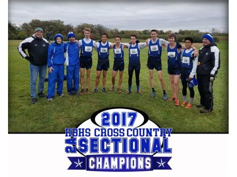 Boys Cross Country Sectional Champs!