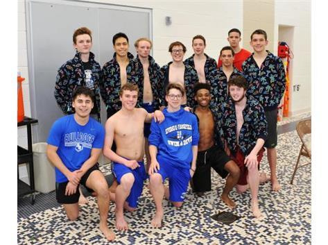 Boys Swim Senior Night 2018