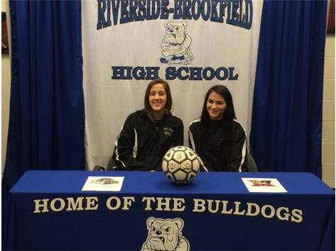 Congratulations to Girls Soccer College Bound Athletes.