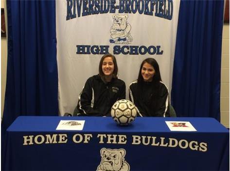Congratulations to Girls Soccer College Bound Athletes. Emily Graham - Purdue University Vanessa Fragoso - St. Xavier