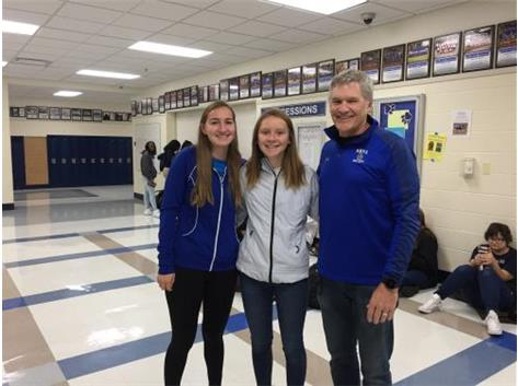 Congratulations and Good Luck at State, Tara Janney!!
