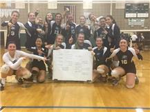2017 SeaTac League Volleyball Champs!