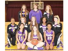 Junior Varsity Girls Basketball 2016-17