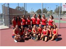 2016 RUHS Girls Tennis