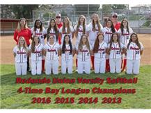 RUHS Softball - Bay League Champions