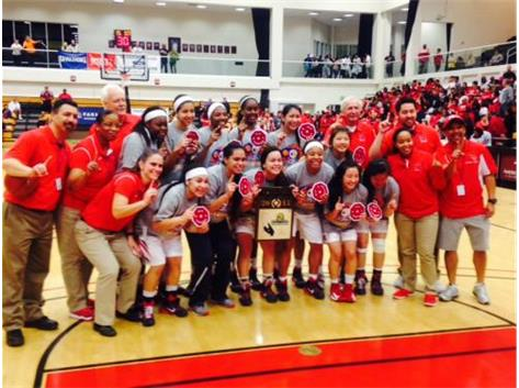 2015 Girls Basketball CIF Champs