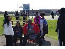 Coach Smith has been instrumental in motivating the girls to reach the athletic goals.