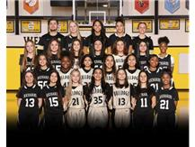 JV girls basketball 2020.21
