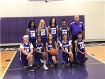 7th grade Girls basketball 2018-2019 season