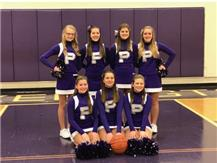 8th Grade Girls cheerleading 2018-2019 season