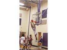 8th grade Boys Basketball against New Albany