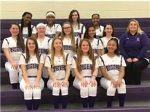 2019 seventh grade Softball Team