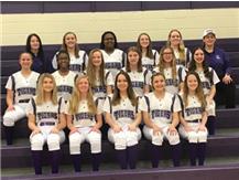 2019 Eighth grade Softball Team
