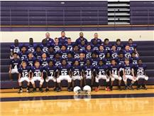 7th Grade Football Team for 2019 Ridgeview