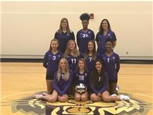 7TH GRADE VOLLEYBALL TEAM 2019 RIDGEVIEW