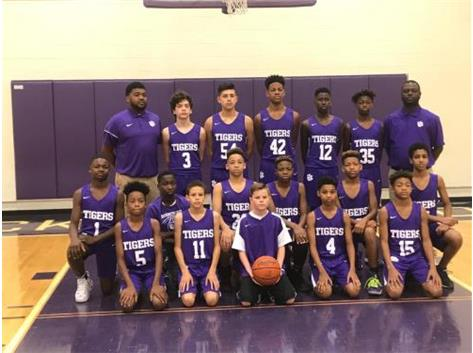 7th grade boys basketball 2018-2019 season
