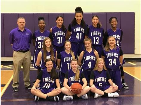 8th grade Girls basketball 2018-2019 season
