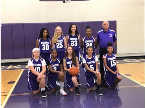 7th grade Girls basketball 2018-2019 season