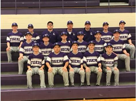 2019 eighth grade baseball team