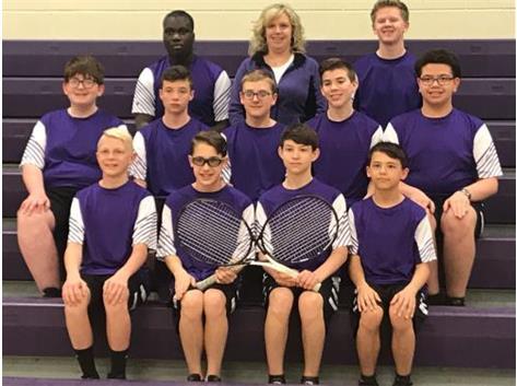 2019 Ridgeview Boys Tennis Team