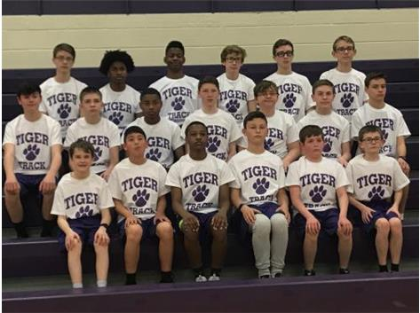 2019 Ridgeview Boys Track Team