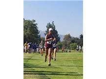 Junior runner Caitlin Herrera