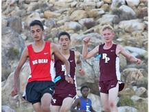 Freshman Runners Jacob Bravo and Thomas Long