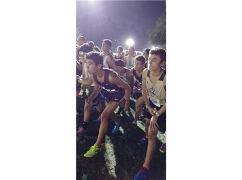 Varsity Runner Tate Callicott