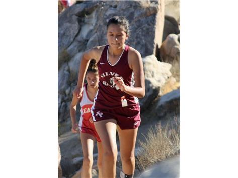Sophomore runner Annelyse Frausto