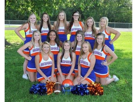 2017 Riverton Football Cheerleaders