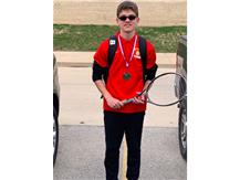 Congratulations to Logan for earning a 2nd place medal at the Moline JV invite for the number 1 singles bracket!