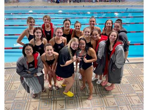 East Mermaid Relays-1st Place