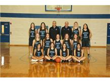 2019-2020 Rosary Royals JV Basketball Team!