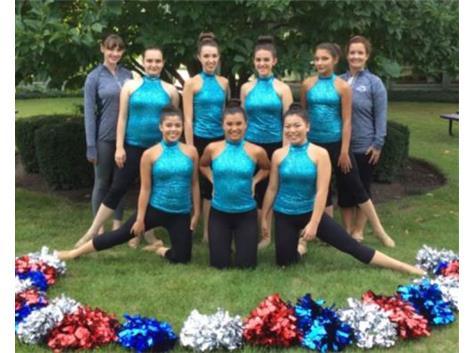 2016-17 Rosary Dance Team