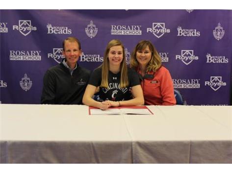 Camryn Streid Signing her NLI to Swim at the University of Cincinnati!