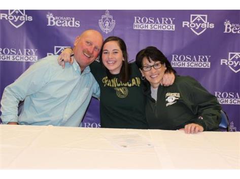 Maura VanBogaert Signing her NLI to play Softball at Franciscan University of Steubenville!