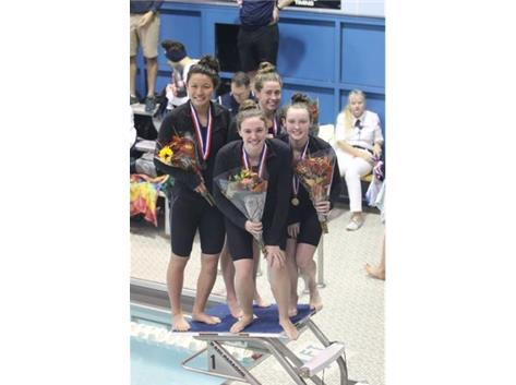 200 Medley State Champs!
