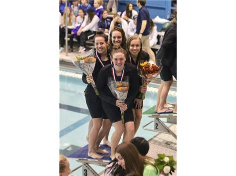 400 Free Relay- 3rd