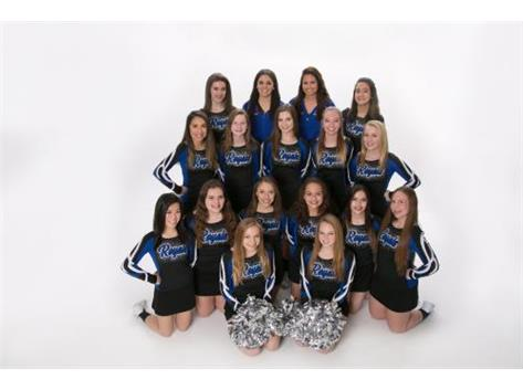 Rosary Royals 2018 competitive cheerleading team