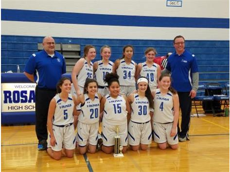 Annunciation is the 2018 MLK 7th grade champs!