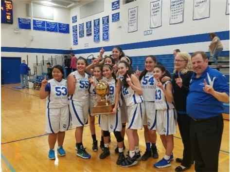 Congrats to St. Joseph on your 1st place finish in the 8th grade girls catholic league!